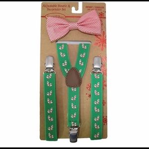 Other - 🎄 Christmas Suspender And Bow Set 🎄